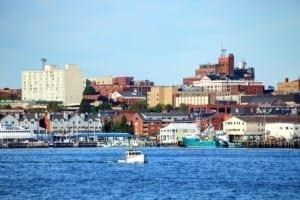 Portland, Maine Shoreline