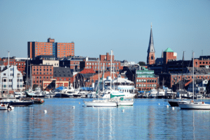 Portland, Maine Waterfront