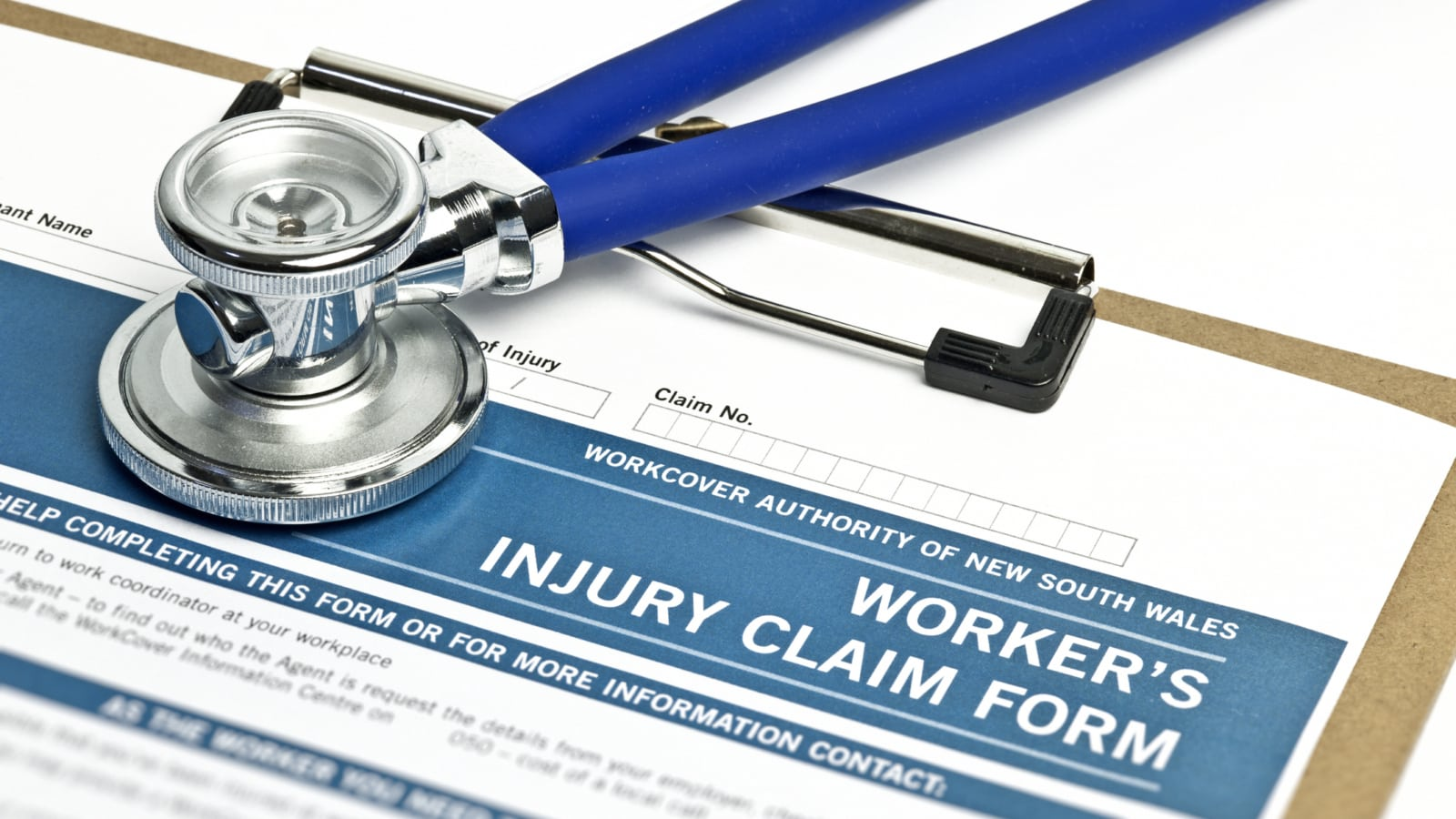 Worker's Injury Claim Form