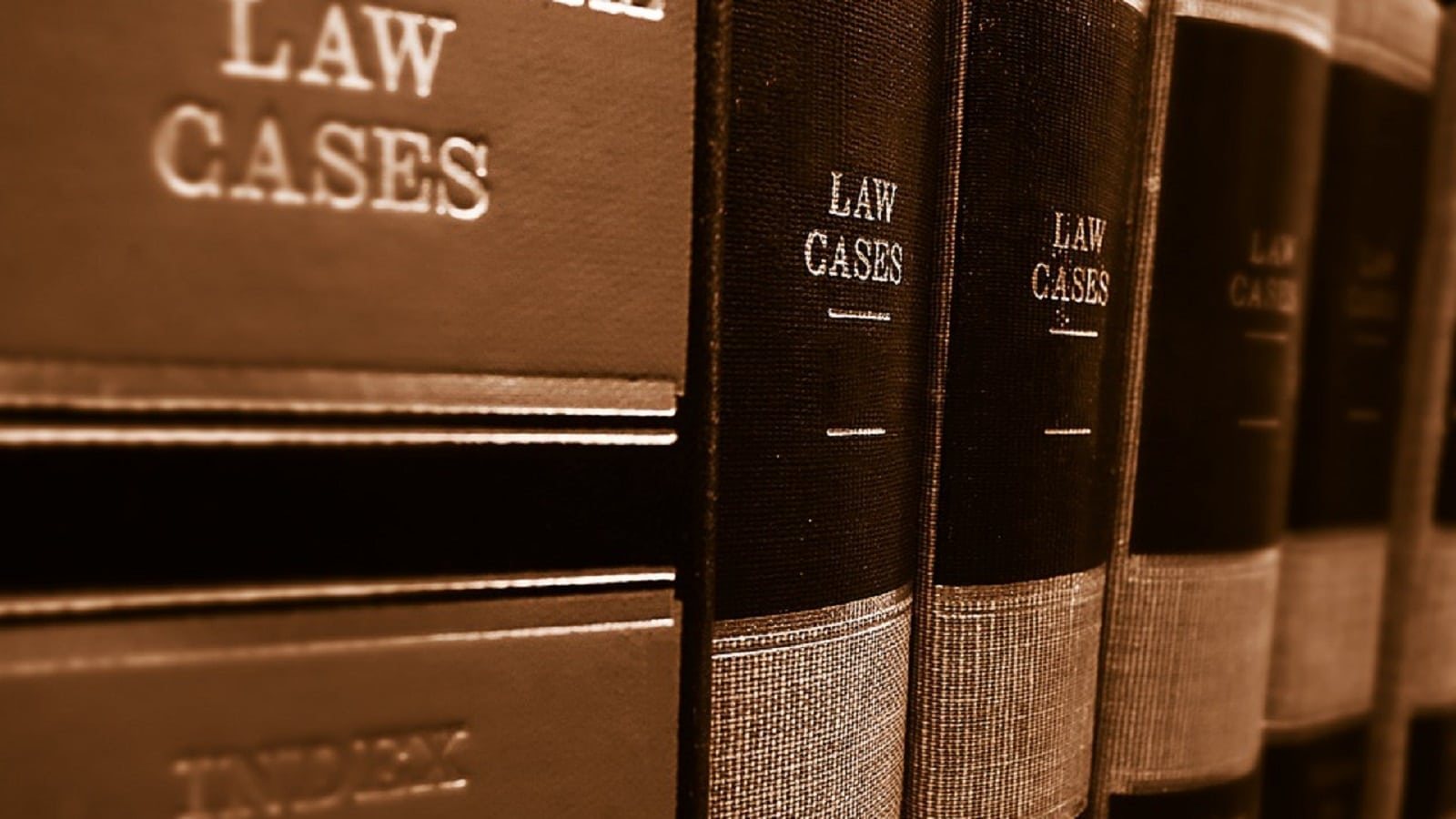 Law books stock photo